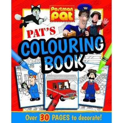 Postman Pat: Pat's Colouring Book image number 1