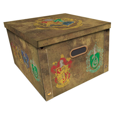 Harry Potter Crest Collapsible Storage Box image number 1