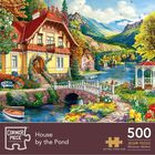 House By The Pond 500 Piece Jigsaw Puzzle image number 1