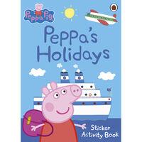 Peppa Pig: Peppa's Holidays Sticker Activity Book