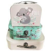 Koala Storage Suitcases - Set Of 3