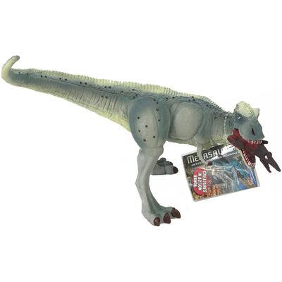Grey Spot Tyrannosaurus Rex Dinosaur Figurine image number 1