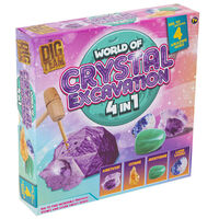 World of Crystals 4-in-1 Excavation Kit