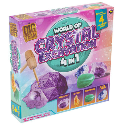 World of Crystals 4-in-1 Excavation Kit image number 1