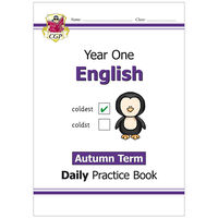 KS1 English Daily Practice Book: Year 1 Autumn Term