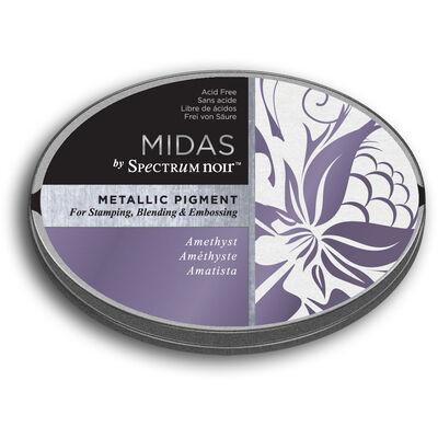 Spectrum Noir Midas Metallic Pigment Inkpad - Amethyst image number 1
