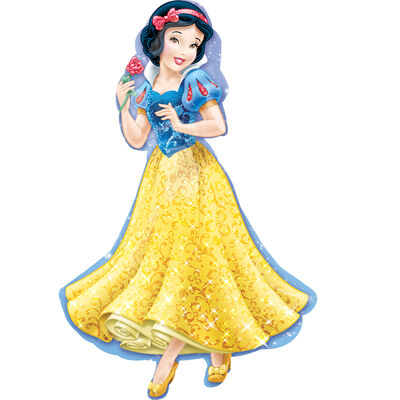 37 Inch Disney Snow White Super Shape Helium Balloon image number 1
