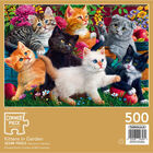 Kittens in the Garden 500 Piece Jigsaw Puzzle image number 3