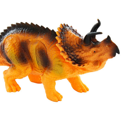 9 Inch Triceratops Dinosaur Figurine image number 3