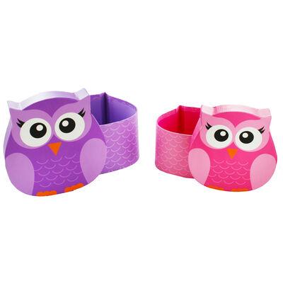 Owl Shaped Storage Boxes - Set of 2 image number 3