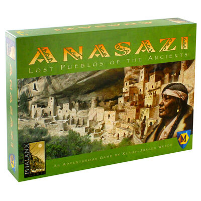 Anasazi Lost Pueblos Of The Ancients Board Game image number 1
