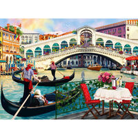 Rialto Bridge 500 Piece Jigsaw Puzzle