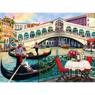 Rialto Bridge 500 Piece Jigsaw Puzzle image number 2