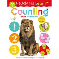 Ready Set Learn: Counting Skills Workbook