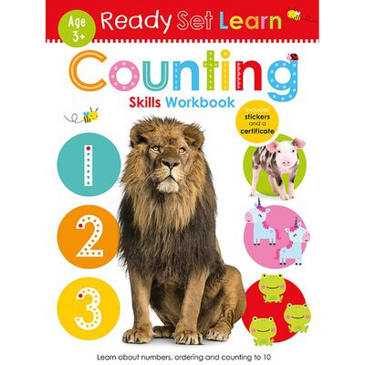 Ready Set Learn: Counting Skills Workbook image number 1