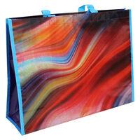 Colourful Swirl Reusable Shopping Bag