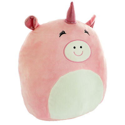 Snuggly Pink Piggy Corn Plush Soft Toy image number 2