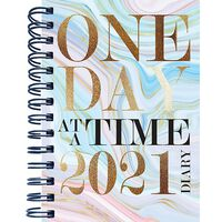 B5 One Day 2021 Day a Page Diary