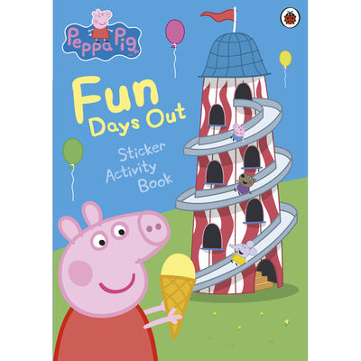 Peppa Pig: Fun Days Out Sticker Activity Book image number 1