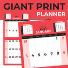 Month To View 2021 Giant Print Planner image number 1