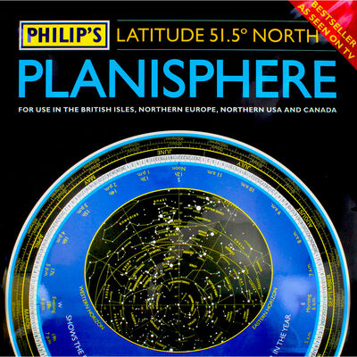 Philips Planisphere: Latitude 51-5 North image number 1