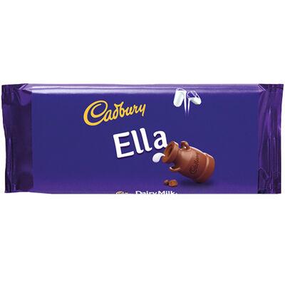 Cadbury Dairy Milk Chocolate Bar 110g - Ella image number 1