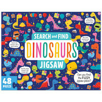 Search and Find Dinosaur 48 Piece Jigsaw Puzzle