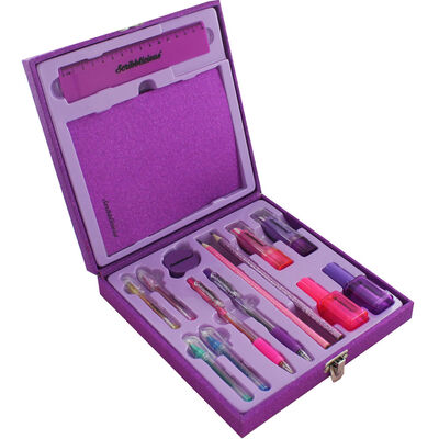 15 Piece Glitter Stationery Set - Assorted image number 2