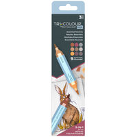 Spectrum Noir TriColour Aqua Markers: Essential Neutrals
