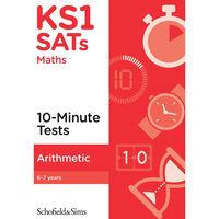 KS1 SATs Arithmetic 10-Minute Tests: Ages 6-7