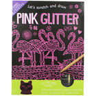 Lets Scratch and Draw - Pink Glitter image number 1