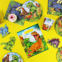 Dinosaur Paper Plates - 8 Pack