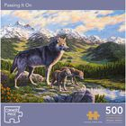 Passing It On 500 Piece Jigsaw Puzzle image number 1