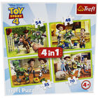 Toy Story 4 4-in-1 Jigsaw Puzzle Set image number 2
