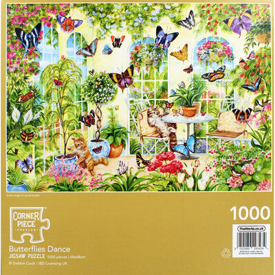 JCP 1000pc Butterflies Dance image number 4