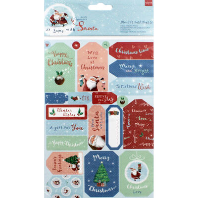 XMA20 Sentiments Toppers 32pcs image number 1