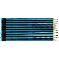 Blue HB Pencils: Pack of 10