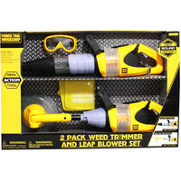 Weed Trimmer and Leaf Blower Set