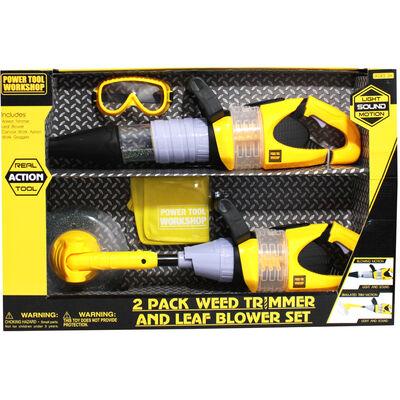 Weed Trimmer and Leaf Blower Set image number 2