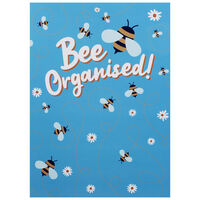 A4 Bee Organised Soft Cover Notebook