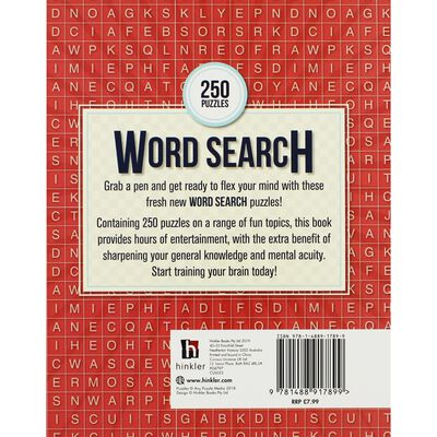 Word Search - 250 Puzzles image number 3