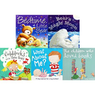 Bears And Friends: 10 Kids Picture Books Bundle image number 3