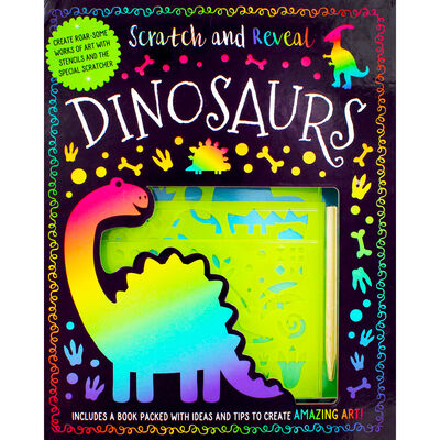 Scratch and Reveal: Dinosaurs image number 2