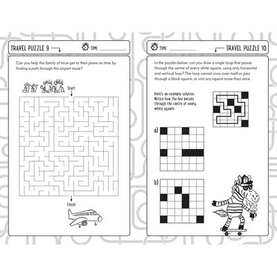 Travel Puzzles For Clever Kids image number 3