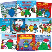 Mr Men Christmas Party: 10 Kids Picture Books Bundle