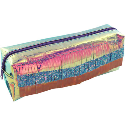 Large Iridescent Pencil Case image number 2