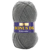 Bonus DK: Dark Grey Yarn 100g