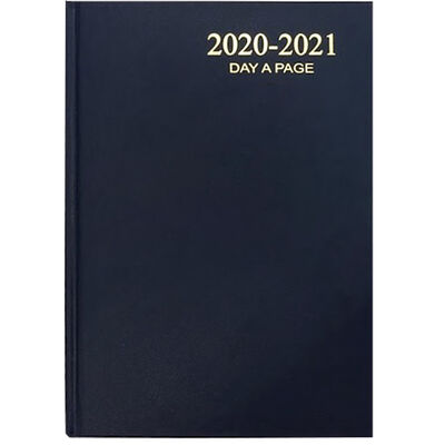 A5 Blue Day A Page 2020-21 Academic Diary image number 1
