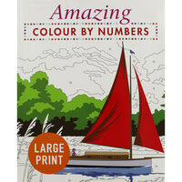 Amazing: Colour By Number
