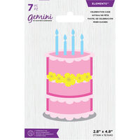 Gemini Mini Elements Die - Celebration Cake